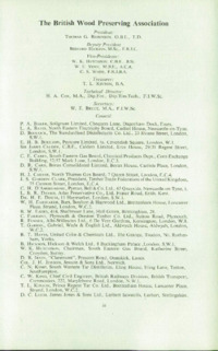 Record of the 1958 Annual Convention of the British Wood Preserving Association : Page 3
