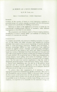 Record of the 1959 Annual Convention of the British Wood Preserving Association : Page 115