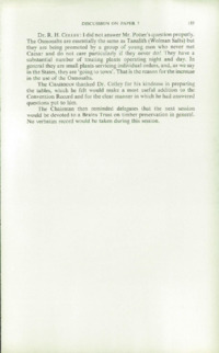 Record of the 1959 Annual Convention of the British Wood Preserving Association : Page 193