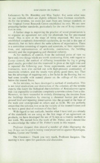 Record of the 1961 Annual Convention of the British Wood Preserving Association : Page 169