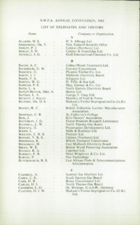 Record of the 1961 Annual Convention of the British Wood Preserving Association : Page 212