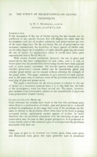 Record of the 1963 Annual Convention of the British Wood Preserving Association : Page 103