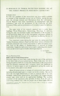 Record of the 1963 Annual Convention of the British Wood Preserving Association : Page 199