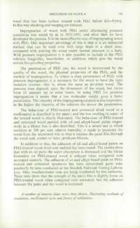 Record of the 1964 Annual Convention of the British Wood Preserving Association : Page 141