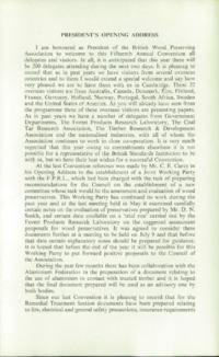 Record of the 1965 Annual Convention of the British Wood Preserving Association : Page 11
