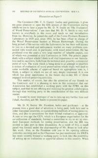 Record of the 1965 Annual Convention of the British Wood Preserving Association : Page 160