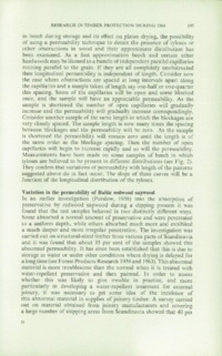 Record of the 1965 Annual Convention of the British Wood Preserving Association : Page 205