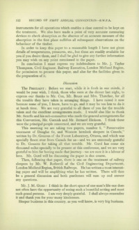 Record of the First Annual Convention of the British Wood Preserving Association : Page 122