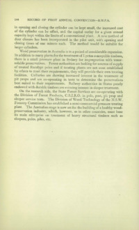 Record of the First Annual Convention of the British Wood Preserving Association : Page 154