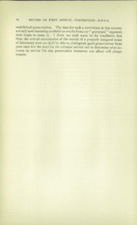 Record of the First Annual Convention of the British Wood Preserving Association : Page 16
