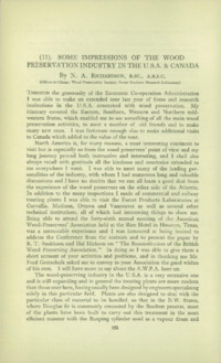 Record of the First Annual Convention of the British Wood Preserving Association : Page 162