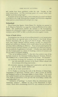Record of the First Annual Convention of the British Wood Preserving Association : Page 189