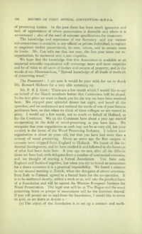 Record of the First Annual Convention of the British Wood Preserving Association : Page 200