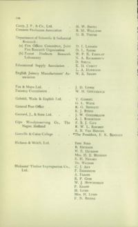 Record of the First Annual Convention of the British Wood Preserving Association : Page 204