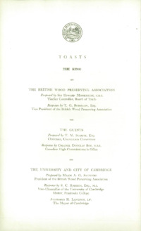Record of the First Annual Convention of the British Wood Preserving Association : Page 46
