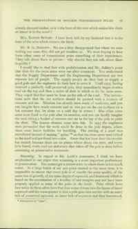 Record of the First Annual Convention of the British Wood Preserving Association : Page 57