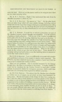 Record of the First Annual Convention of the British Wood Preserving Association : Page 73