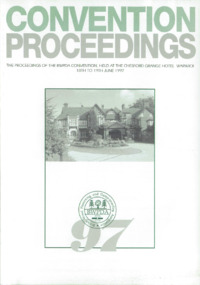 BWPDA Convention Proceedings 1997 : Page 1
