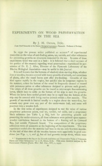 Journal of the British Wood Preserving Association Vol II : Page 111