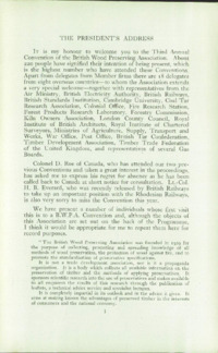 Record of the 1953 Annual Convention of the British Wood Preserving Association : Page 9