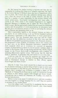 Record of the 1962 Annual Convention of the British Wood Preserving Association : Page 145