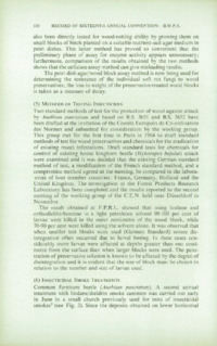 Record of the 1966 Annual Convention of the British Wood Preserving Association : Page 142