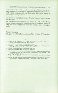Record of the 1966 Annual Convention of the British Wood Preserving Association : Page 151