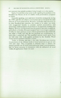 Record of the 1966 Annual Convention of the British Wood Preserving Association : Page 22
