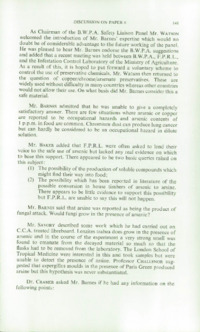 Record of the 1970 Annual Convention of the British Wood Preserving Association : Page 151