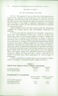Record of the 1970 Annual Convention of the British Wood Preserving Association : Page 60
