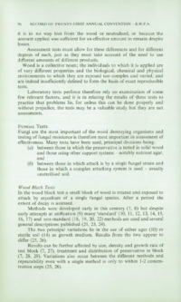 Record of the 1971 Annual Convention of the British Wood Preserving Association : Page 106