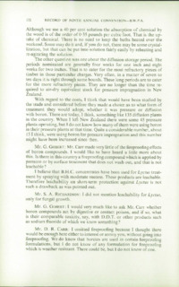 Record of the 1959 Annual Convention of the British Wood Preserving Association : Page 142