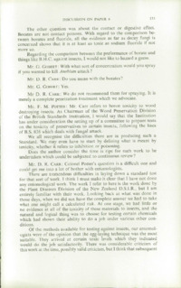Record of the 1959 Annual Convention of the British Wood Preserving Association : Page 143