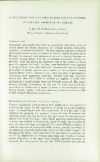 Record of the 1961 Annual Convention of the British Wood Preserving Association : Page 15