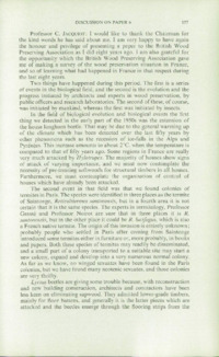Record of the 1961 Annual Convention of the British Wood Preserving Association : Page 167