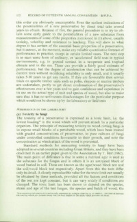 Record of the 1965 Annual Convention of the British Wood Preserving Association : Page 142