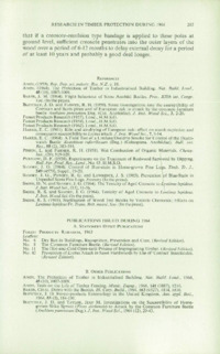 Record of the 1965 Annual Convention of the British Wood Preserving Association : Page 213