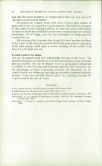 Record of the 1965 Annual Convention of the British Wood Preserving Association : Page 30
