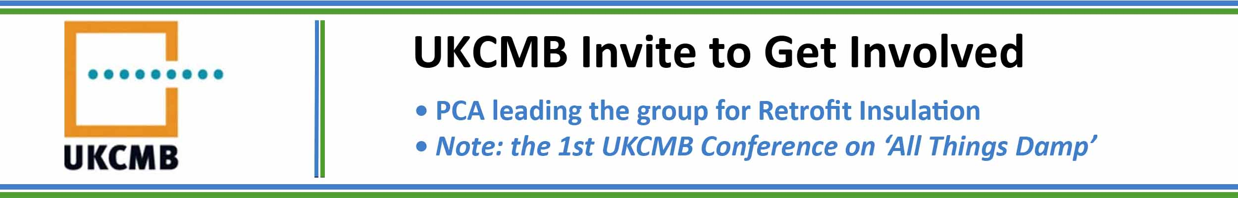 UKCMB invite to get involved - July 2019
