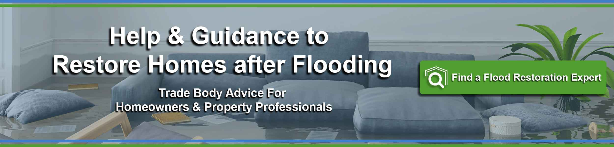 flood restoration - help and advice