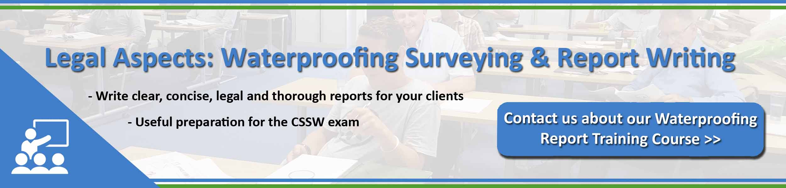 Legal Aspects - Waterpoofing surveying and report writing - Property Care Association
