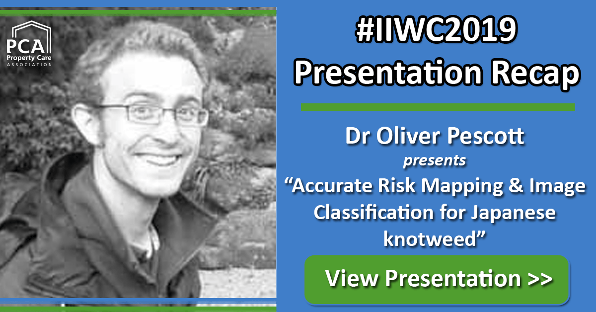 Presentation - Accurate Risk Mapping & Image Classification for Japanese knotweed