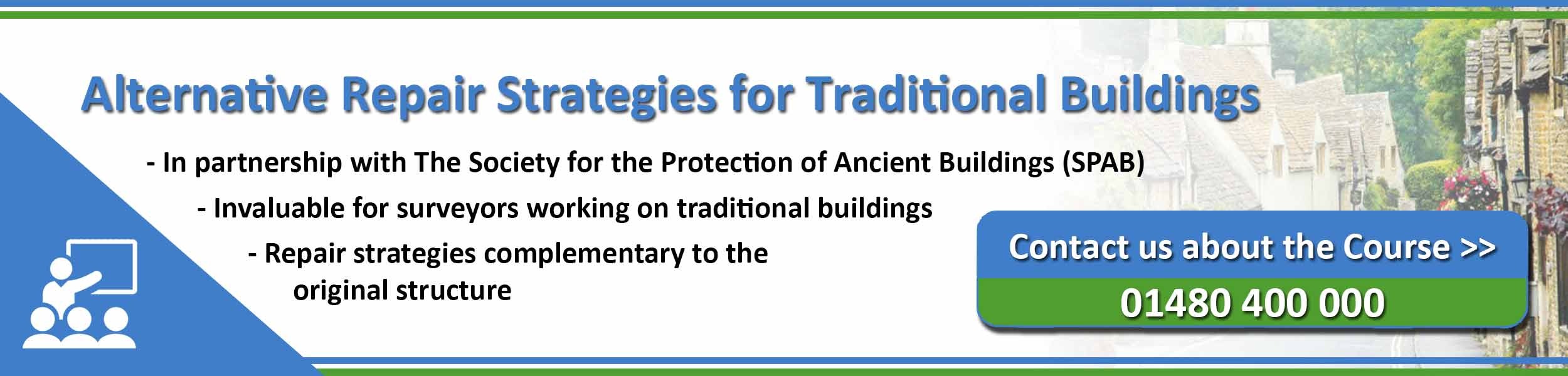PCA Alternative Repair Strategies for Traditional Buildings