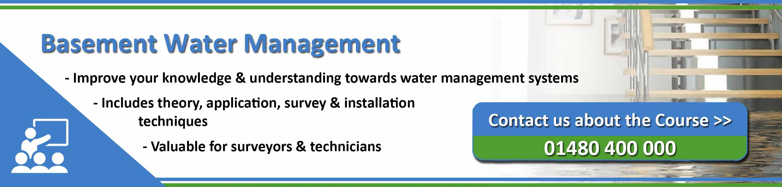 Basement Water Management Training from the PCA