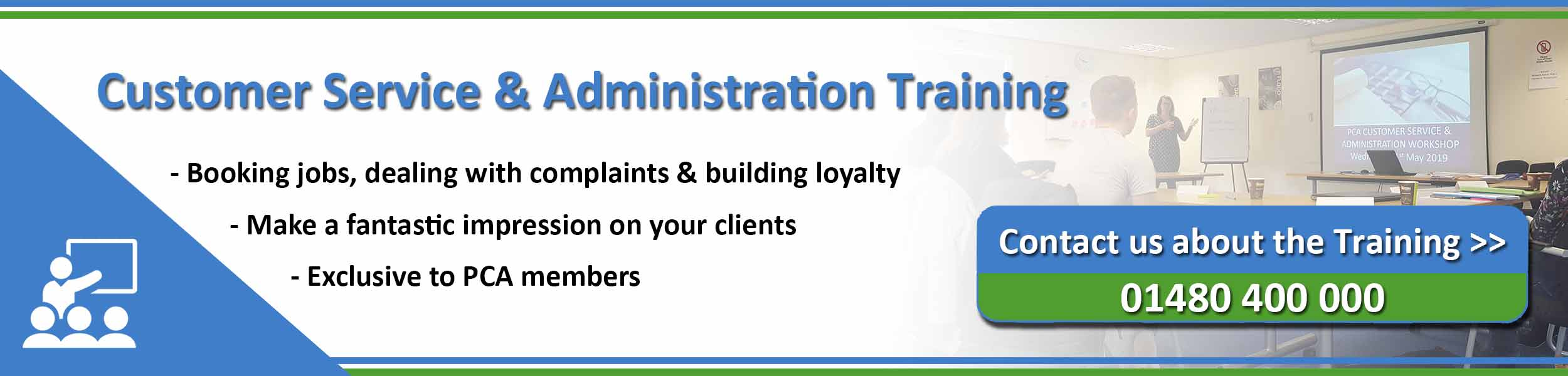 PCA Customer Service and Administration training