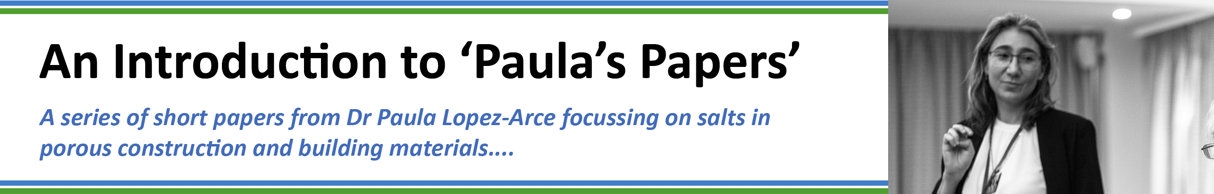 Paula's Papers - Introduction