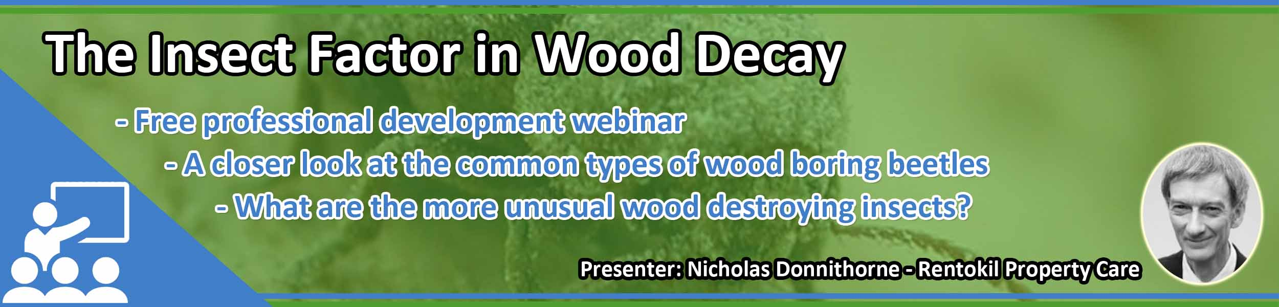 The Insect Factor in Wood Decay - Webinar