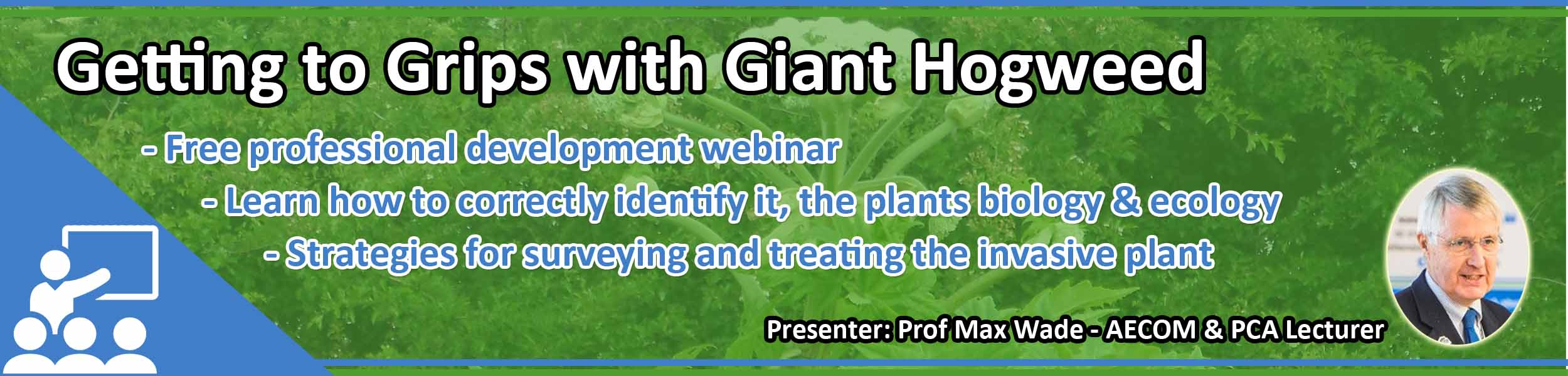 Webinar - Getting to Grips with Giant Hogweed