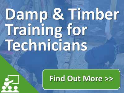 Technician training - Damp and Timber