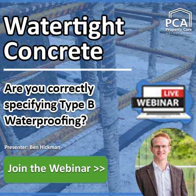 Webinar - Watertight Concrete - Property Care Association